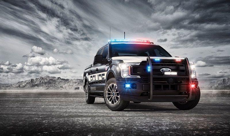 Ford presenta la pick-up F-150 Police Responder