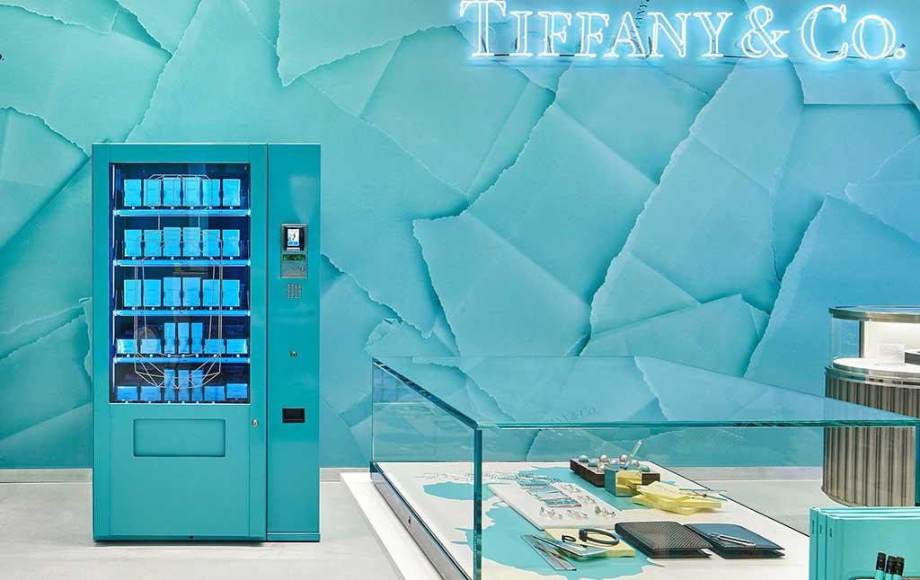 Worldline instala en Tiffany & Co su primera máquina expendedora
